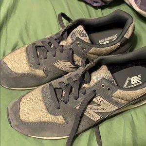 Grey never worn new balance shoes
